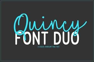 Quincy | Font Duo