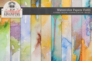 Watercolor Papers Vol01