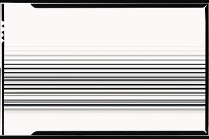 Horizontal black and white film scan lines illustration backgrou