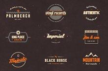 Vintage Label Vector Pack
