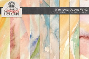 Watercolor Papers Vol02