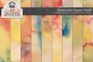 Watercolor Papers Vol03