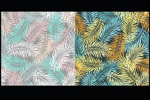 2 tropic seamless pattern