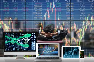 Technology and trading concept