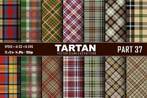 Seamless  Tartan Pattern Part - 37
