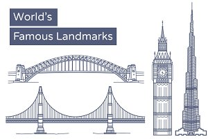 World's Famous Landmarks / Monuments