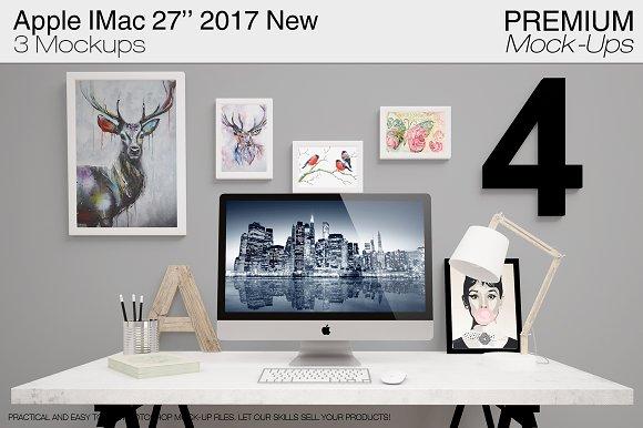 Apple IMac 27'' 2017 New -Graphicriver中文最全的素材分享平台