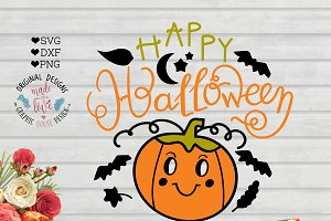 Happy Halloween Cut File