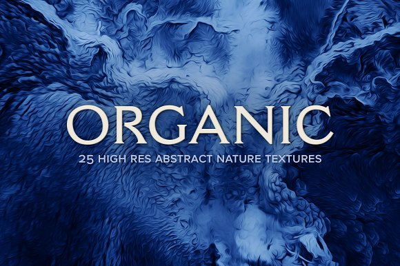 Organic 25 Abstract Nature Textures