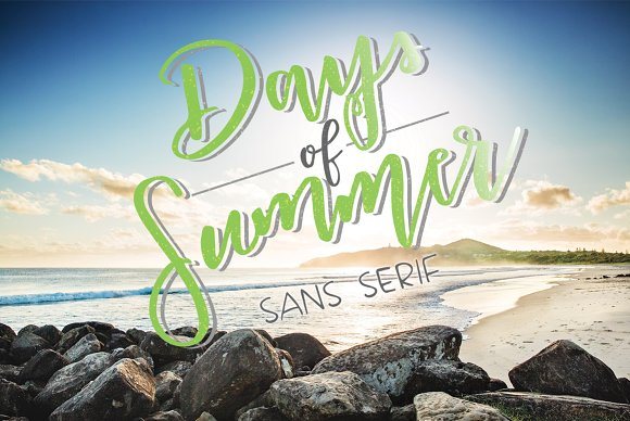 Days Of Summer Sans Serif