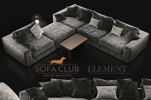 Sofa Club Element grey