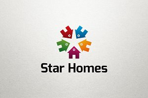 Star Homes Real Estate Logo