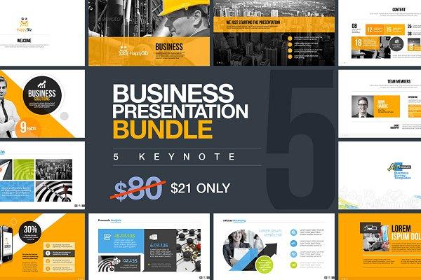 Business Keynote Bundle