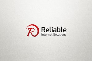 R Letter Logo - Reliable