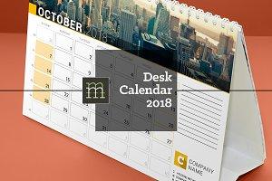 Desk Calendar 2018 (DC034-18)