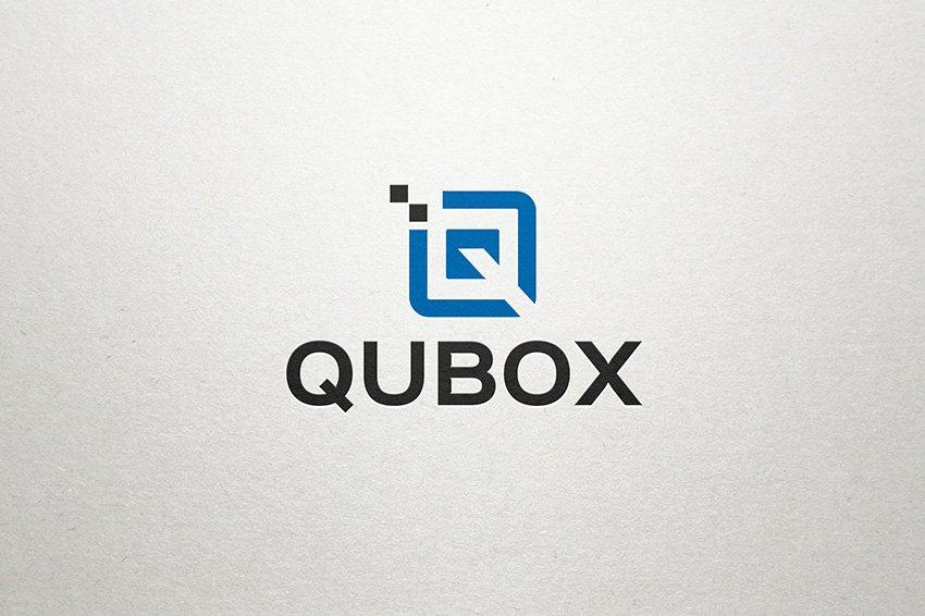 Q Logo Qubox Logo Templates Creative Market