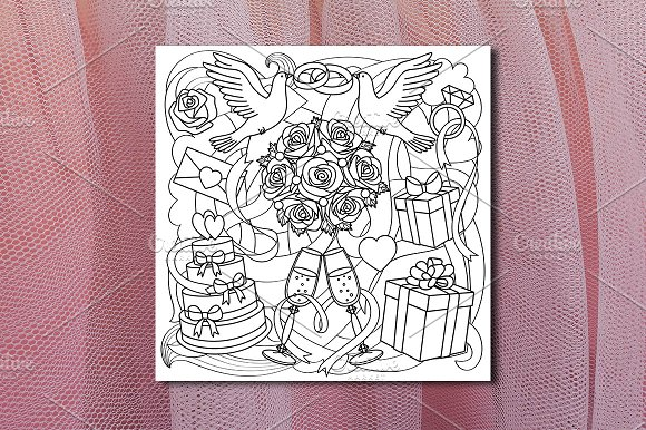 Wedding Pattern Seamless