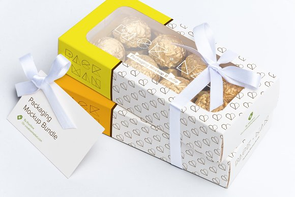 Download Sweet Box Mockup 08