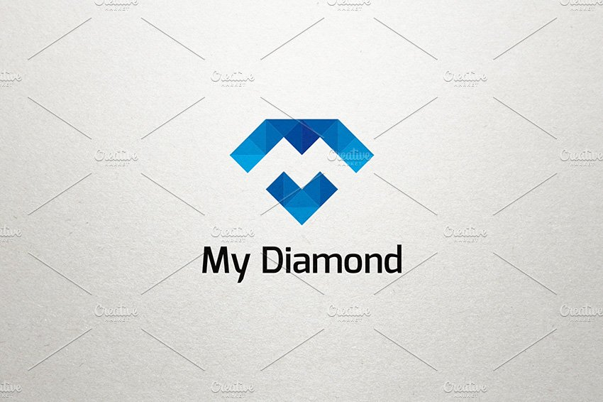 illustrator for diamond creat ikhsan symbol logo hidayat beginner