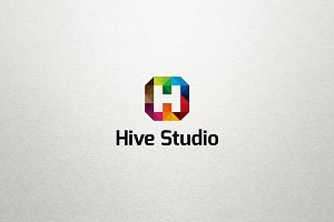 H Logo - Hive Studio