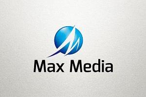M Logo - Max Media Logo