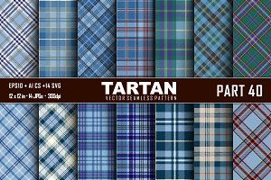 Seamless  Tartan Pattern Part - 40
