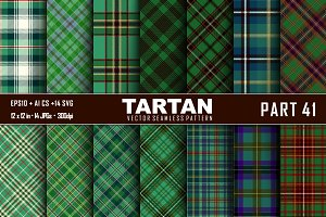 Seamless  Tartan Pattern Part - 41