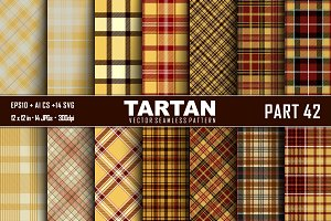Seamless  Tartan Pattern Part - 42