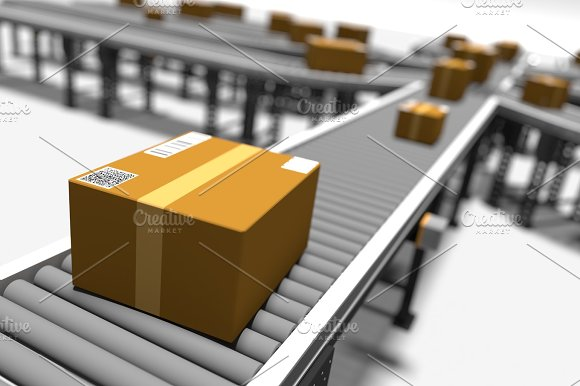Conveyors With Parcels