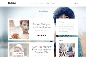 PhotoLux - Multi page HTML5 Template