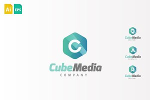 CubeMedia Logo