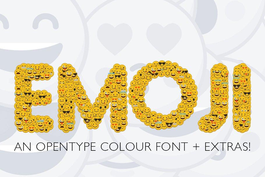Emoji smiley font ~ Fonts ~ Creative Market
