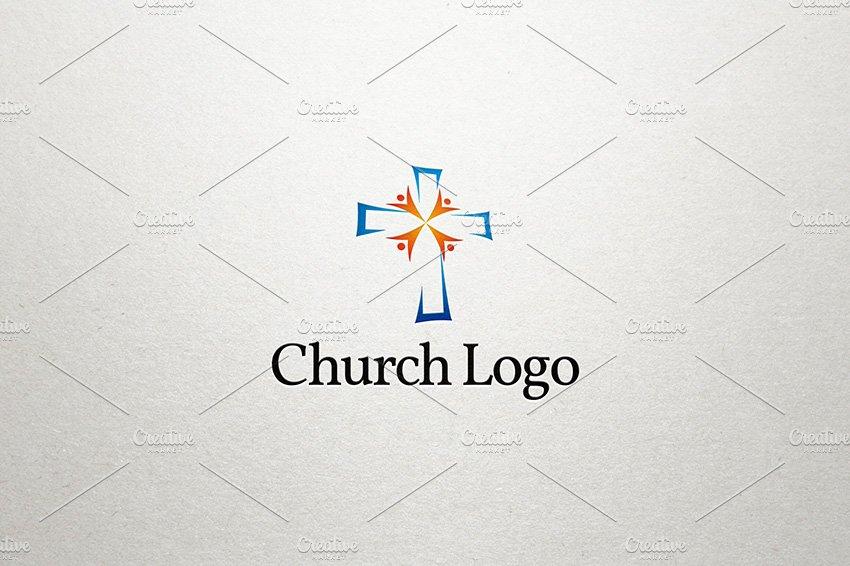 church logo logo templates creative market pro