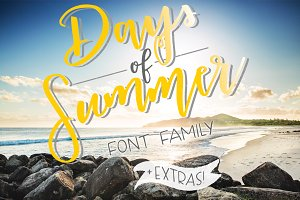 Days of Summer Font Family