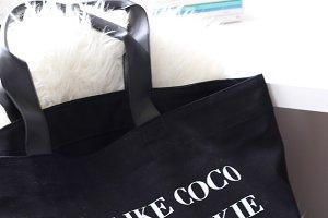 Bag, Books, Flower -Styled Photos