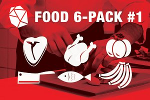 Food Vector 6-Pack #1