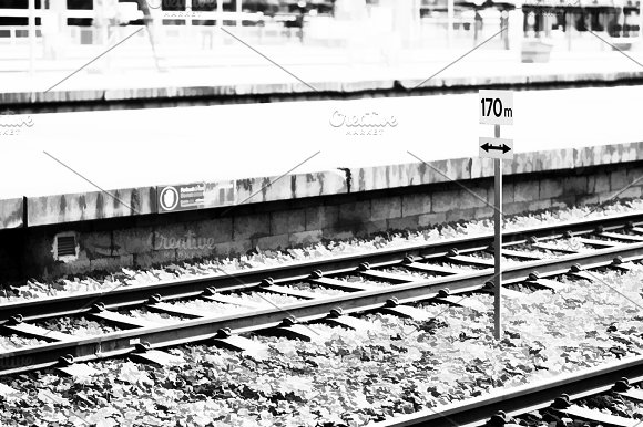 Oslo Railroad Transport Station Illustration Background