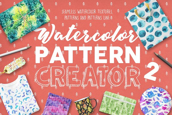 Watercolor Pattern Creator 2