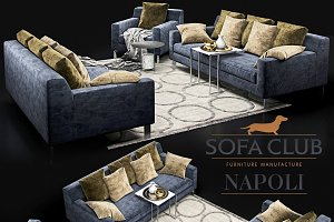 Sofa Napoli Sofa Club_blue