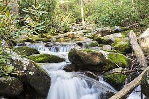 Long Exposure Smoky Mountain Streams
