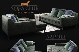 Sofa Napoli Sofa Club_VAR_green