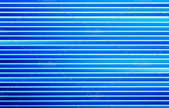 Horizontal Motion Blur Blue Lines Background