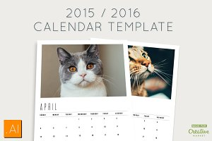 2015/2016 Calendar Templates