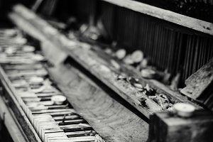 Weathered Piano II