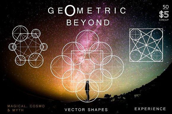 50 Geometric Symbols Magic Shapes