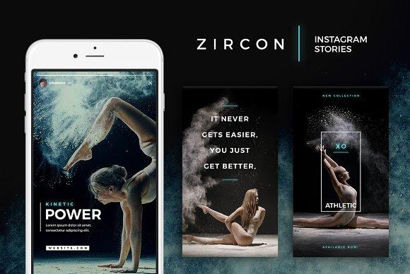 Zircon - Instagram Story Templates-Graphicriver中文最全的素材分享平台