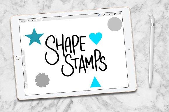 Procreate Brush Stamp Shapes