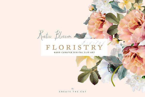 Digital Floristry - Rustic Blossom