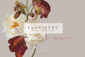 Digital Floristry - Rustic Magnolia