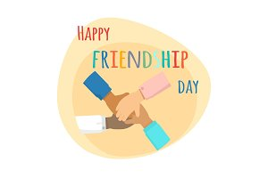 Happy Friendship Day. Inernational Friendship